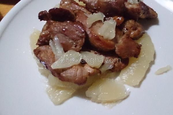 柚香酱烧猪的做法