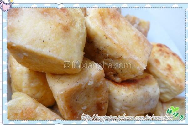 香煎豆腐块的做法