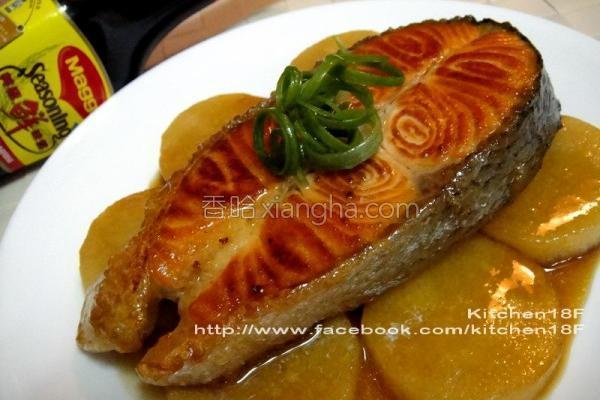 免腌日式酱烧鲑鱼的做法