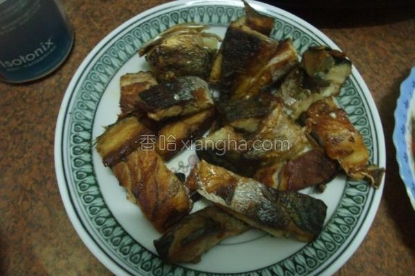 香煎咸鱼的做法