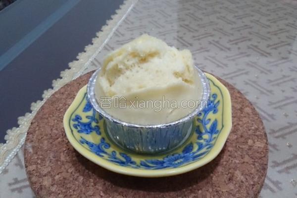 面粉香草鲜奶蒸糕的做法