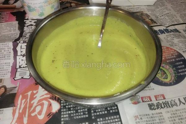 咸猪肉南瓜浓汤的做法