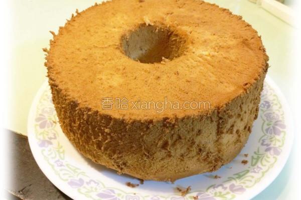 沖绳黑糖戚风蛋糕的做法