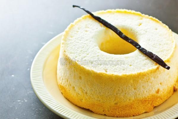 香草天使蛋糕的做法