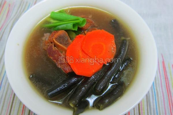 大骨四季豆蔬菜汤的做法