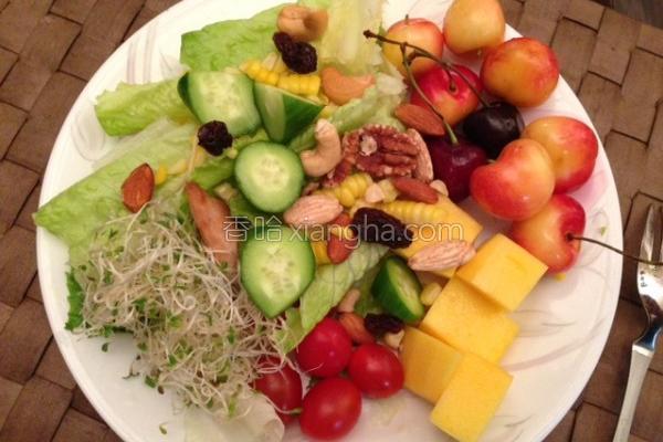 生菜沙拉的做法