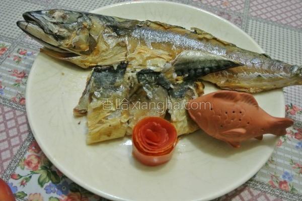 香煎鲭鱼的做法