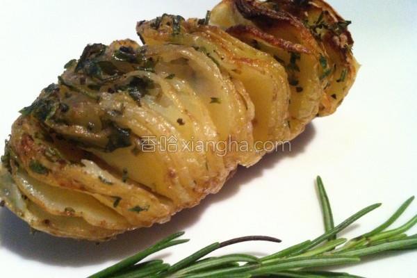 手风琴马铃薯的做法