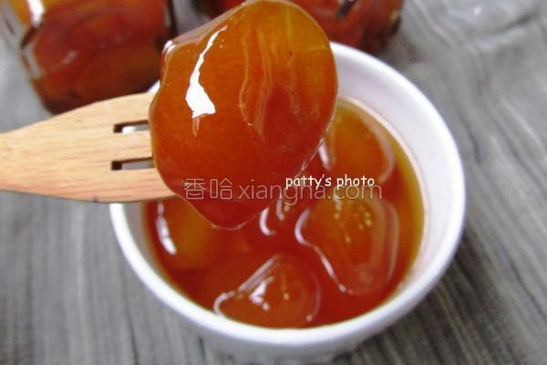 金枣蜜饯的做法