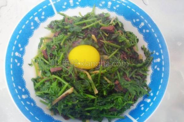 梅干菜炒蕨菜的做法