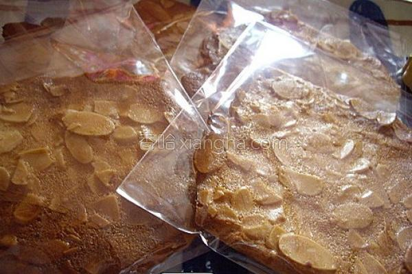 杏仁瓦片饼干的做法