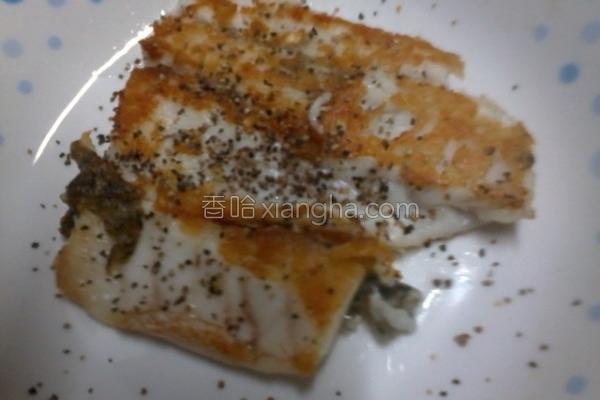 香煎鲈鱼的做法