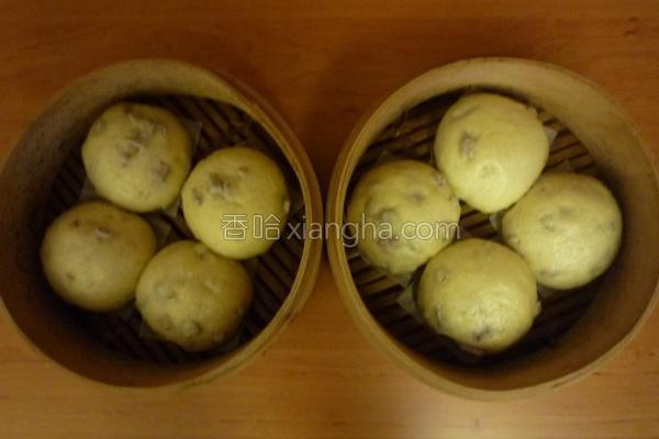 芋香馒头的做法