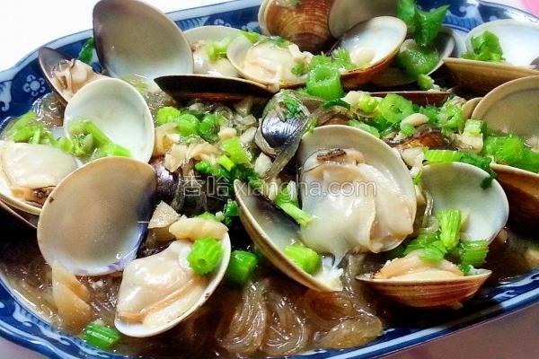 蒜香蛤蜊冬粉的做法