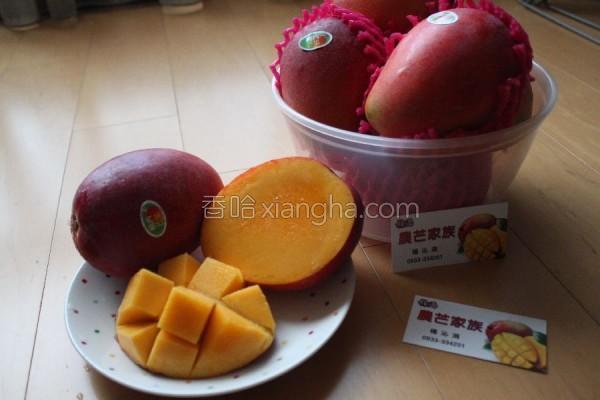 自制酸甜芒果剉冰的做法