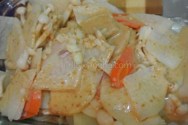 芝麻酱蔬食的做法