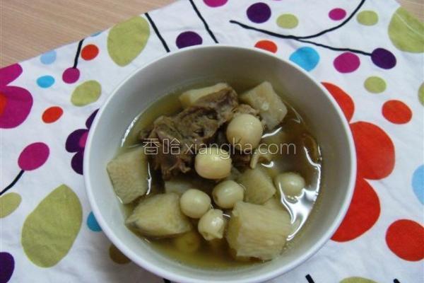 牛蒡茶排骨汤的做法
