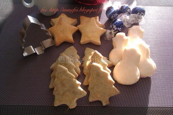 圣诞节饼干的做法