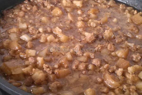 卤肉燥的做法