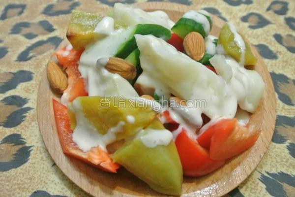 健康凉拌蔬菜的做法