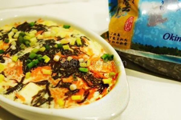 沖绳水云豆腐蒸蛋的做法