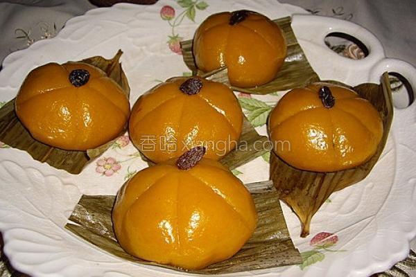 黄金南瓜包的做法