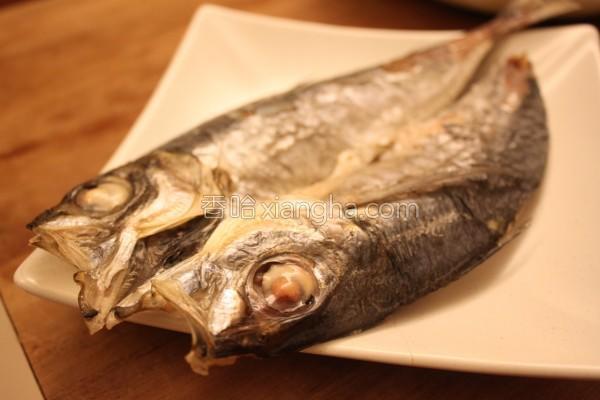 烤竹筴鱼一夜干的做法