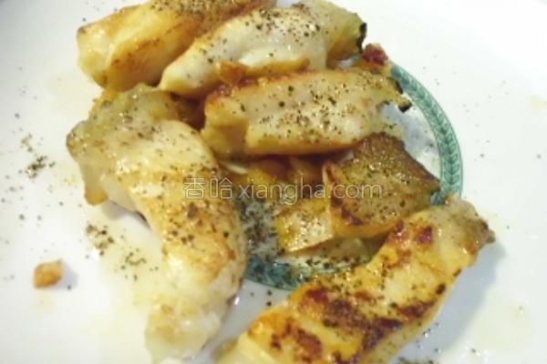 蒜香干煎石斑鱼的做法