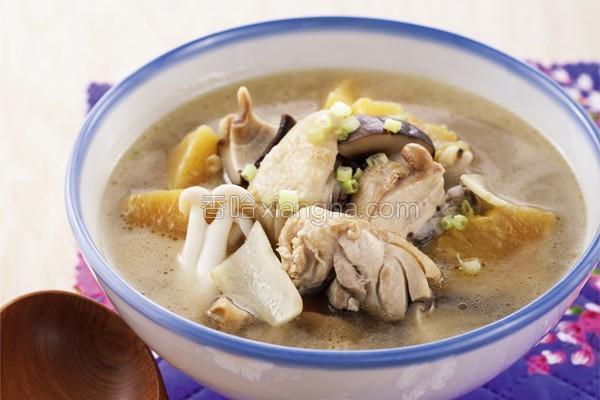 腌凤梨鸡汤的做法