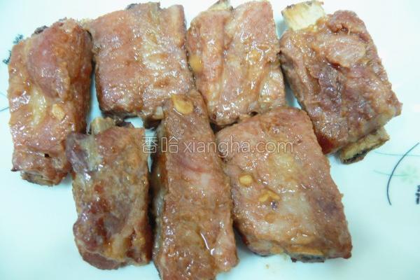 酱烤猪小排的做法