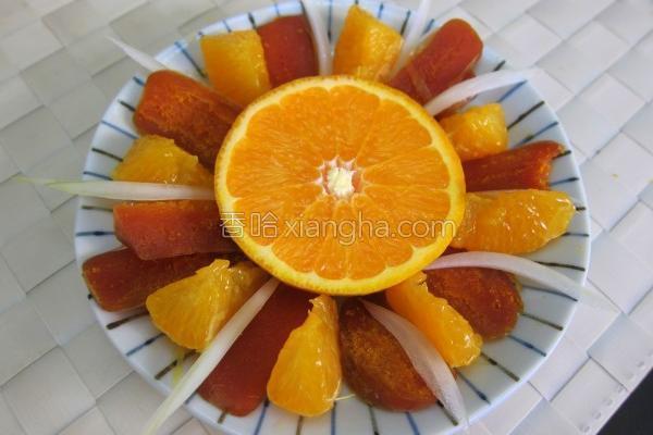橘香乌鱼子的做法