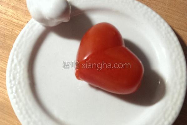 爱心小番茄的做法