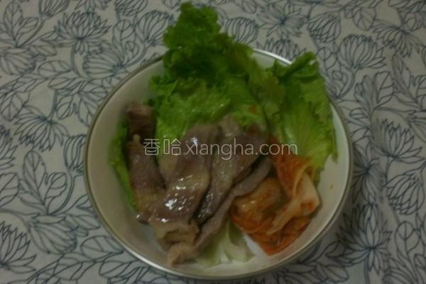 韩式烤肉改良的做法
