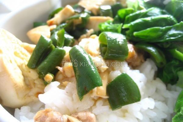 双椒麻婆豆腐的做法