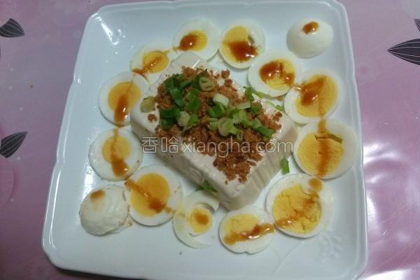 鲔鱼松拌豆腐的做法