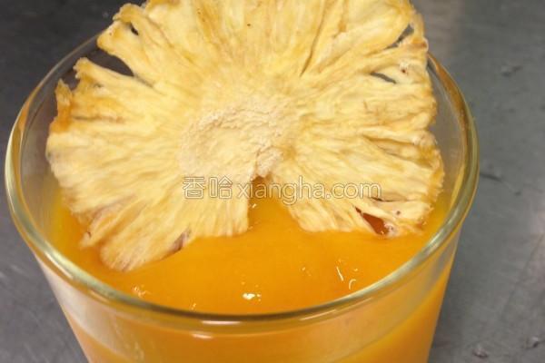 消暑金煌芒果冰沙的做法