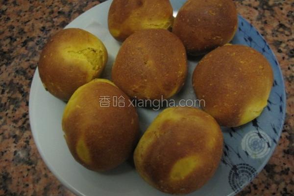 姜黄烤馒头的做法