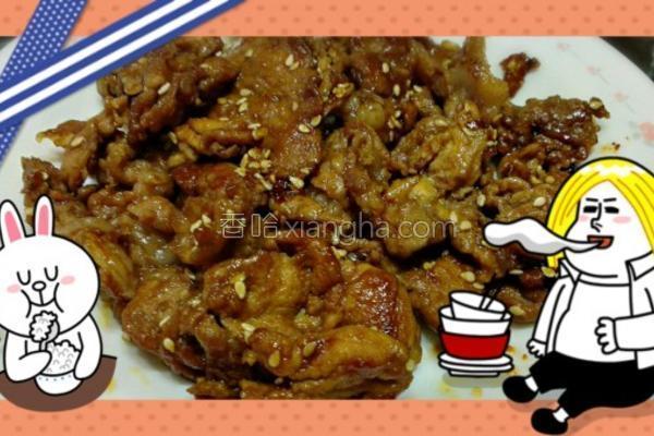 姜烧猪肉的做法