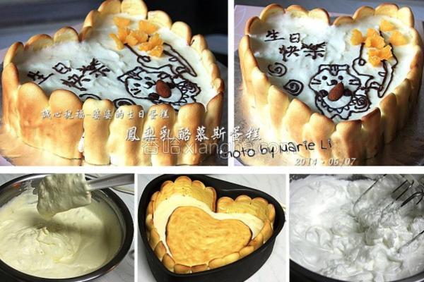 凤梨乳酪慕斯蛋糕的做法