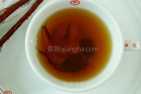丹参红枣桂圆茶的做法