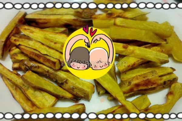 地瓜薯条的做法