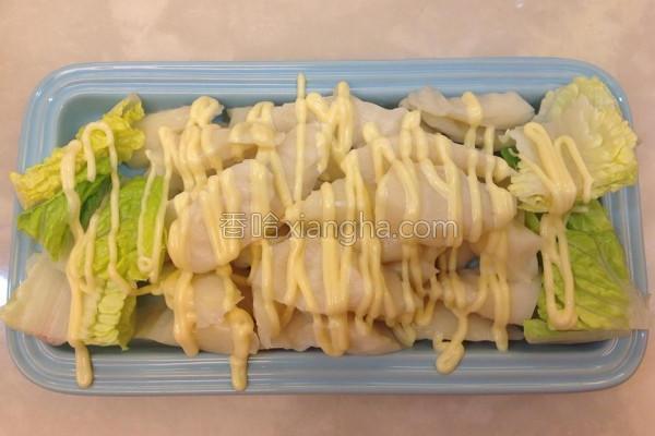 茭白笋沙拉的做法