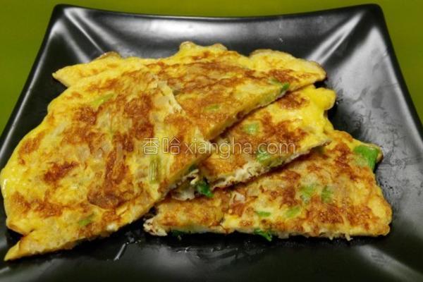 黄金菜脯蛋的做法
