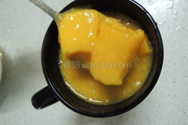 芒果香蕉果汁的做法