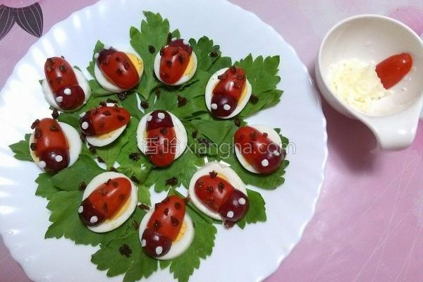 番茄小瓢虫的做法