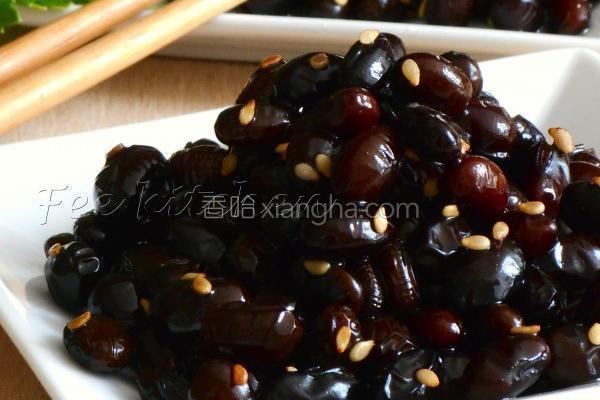日式佃煮黑豆的做法