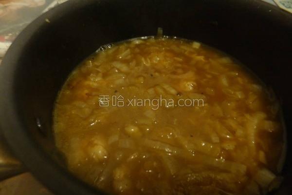 菇菇洋葱汤的做法