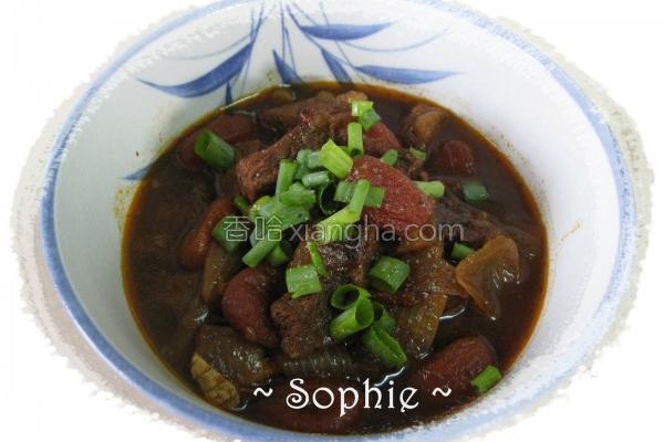 牛肉番茄炖牛肉的做法