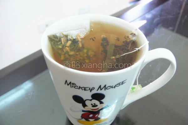 柠檬草红茶柠檬饮的做法