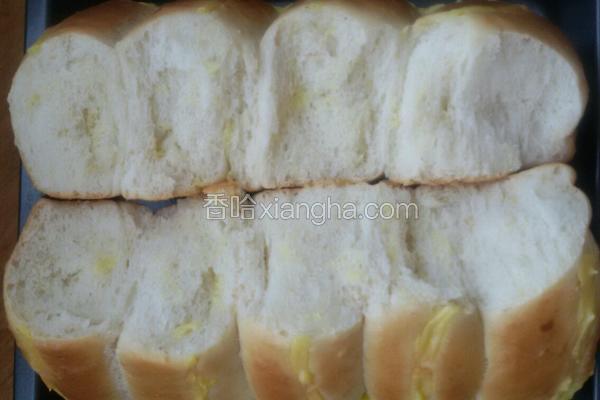 吉士排面包。